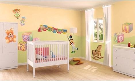 Decorazioni Per Camerette Per Bambini : Camerette per bambini e idee per la cameretta leostickers